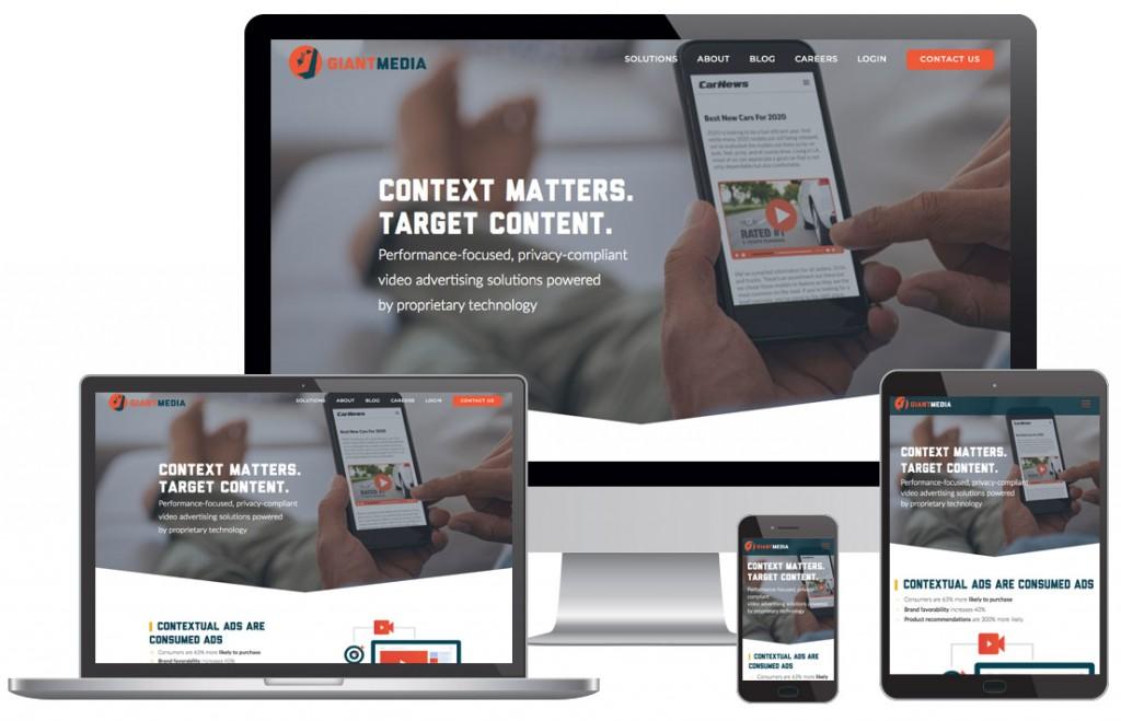 Giant Media Website