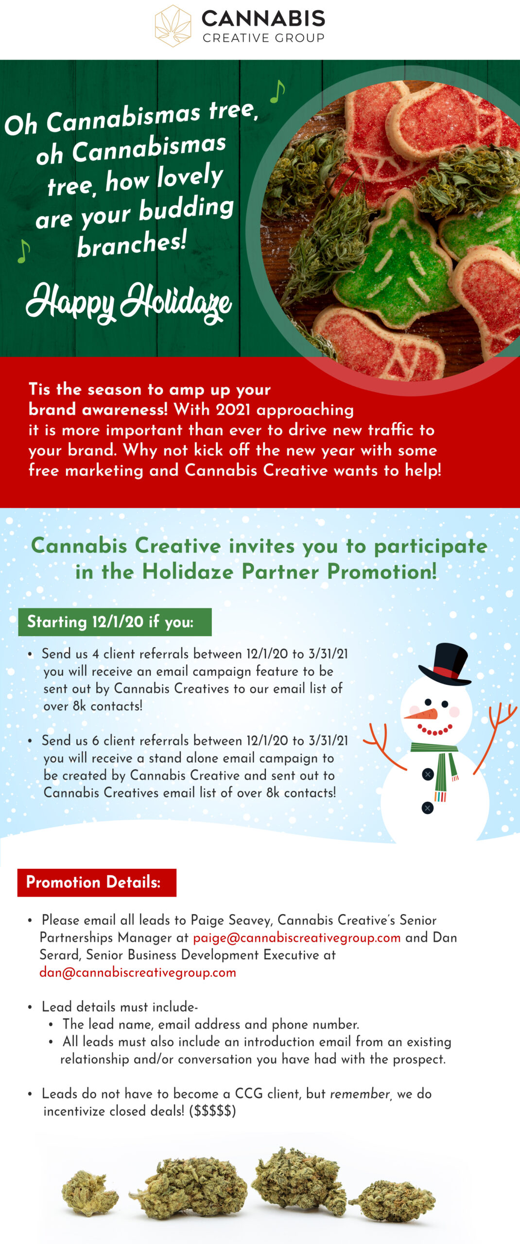 CCG Holiday Email